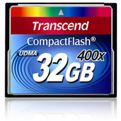 Transcend 32GB CF Card (400X) compact flash memory card
