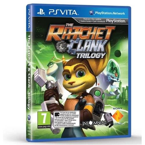 PS Vita hra - Ratchet & Clank Trilogy