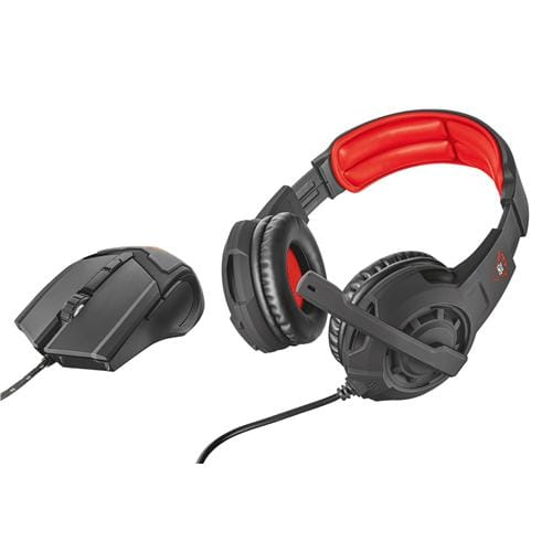 Trust slúchadlá GXT 784 GAMING HEADSET & MOUSE 21472