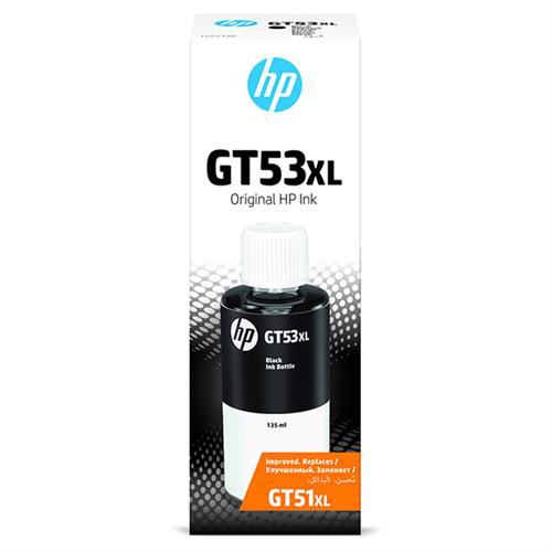 HP originál ink bottle 1VV21AE, GT53, black, 6000str., 135ml, HP Deskjet GT 5810, 5820, InkTank 115, 116, 315