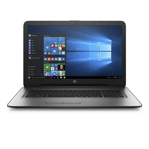 "HP 17-x001nc, Pentium N3710 quad, 17.3"" HD, AMD R5 M430 Graphics/2GB, 8GB, 1TB 5.4k, DVDRW, W10, Turbo Silver"