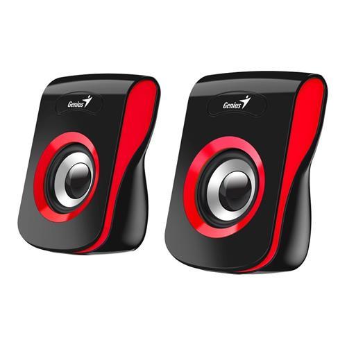 Speaker GENIUS SP-Q180, RED, USB, 6W 31730026401
