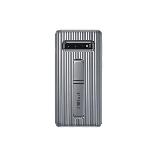 Samsung Protective Standing Cover S10 Silver EF-RG973CSEGWW