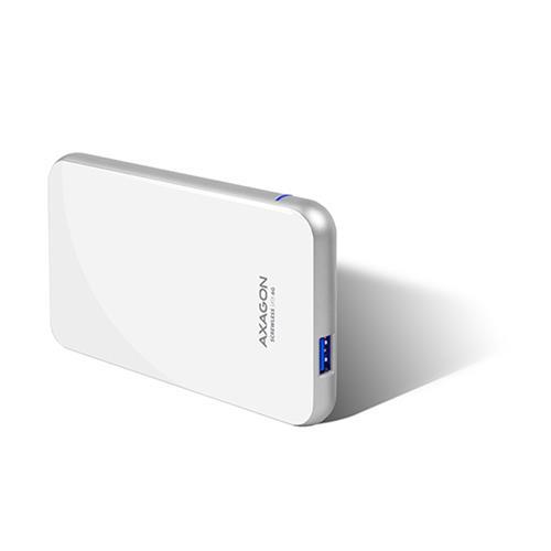 AXAGON USB3.0 - SATA 6G 2.5'' SCREWLESS box WHITE EE25-S6