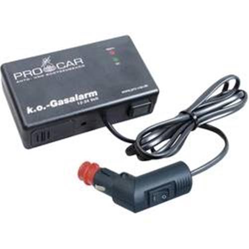 Plynový alarm do auta ProCar K.O. 52002005 12 V, 24 V 855159