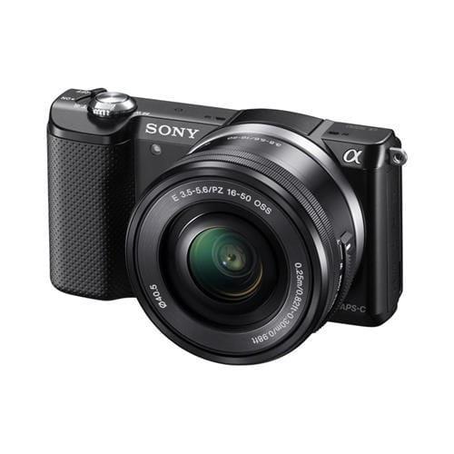 Sony A5000, 16-50mm, 20,1Mpix, bajonet E, čierna ILCE5000LB.CEC