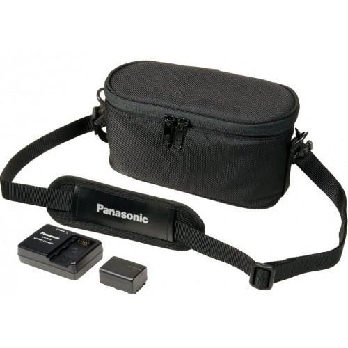 Panasonic VW-ACT380E-K - camcorder starter kit (akumulátor + nabíjačka + brašna)