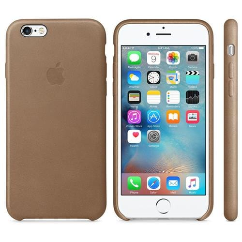 Apple iPhone 6S Leather Case Brown