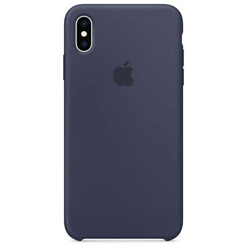 iPhone XS Max Silicone Case - Midnight Blue MRWG2ZM/A