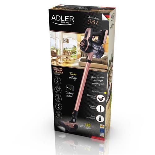 ADLER AD 7044, Bezvreckový AKU vysávač