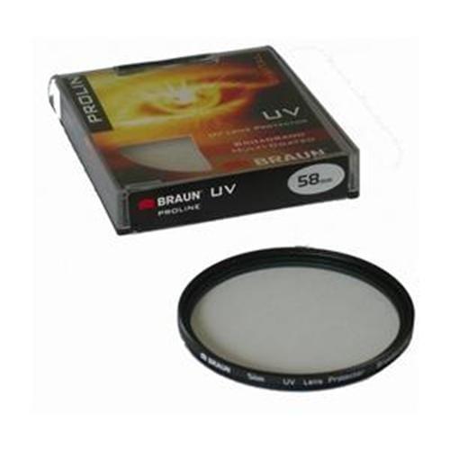 BRAUN UV MC filter ProLine - 58 mm 14222