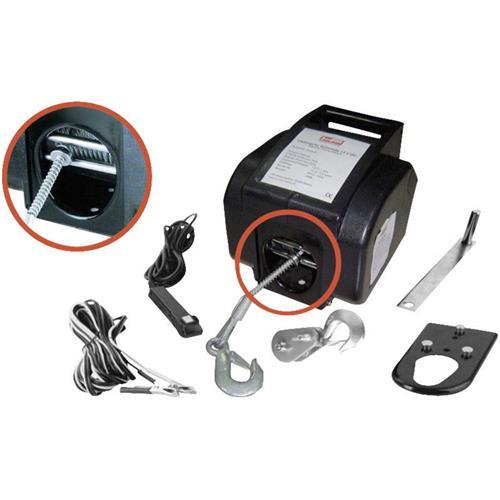 Motorový autonaviják HP Autozubehör 20601, 900 kg, káblové ďiaľkové ovládánie 852418