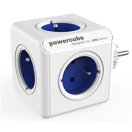 Zásuvka PowerCube ORIGINAL, Blue, 5-ti rozbočka 423650