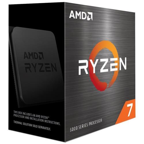 AMD Ryzen 7 5800X (3,8GHz / 32MB / 105W / no VGA / SocAM4) Box, bez chladiča 100-100000063WOF