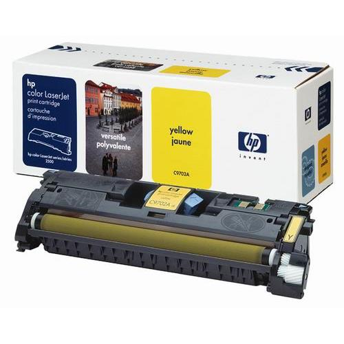 HP toner, Yellow CLJ1500, CLJ2500 (5.000pages) C9702A