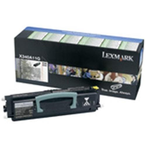 Toner LEXMARK black X264/X36X na 3500 stran Return program