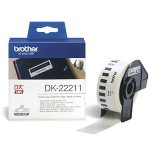 Rolka BROTHER DK22211 Continuous Film Tape (Biela 29mm)