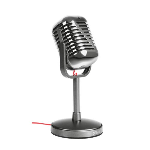 Mikrofón TRUST Elvii Vintage 21670