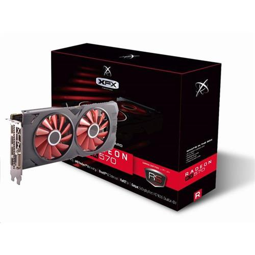 VGA XFX Radeon RX 570 RS XXX EDITION 8GB/256-bit DDR5 3xDP HDMI RX-570P8DFD6