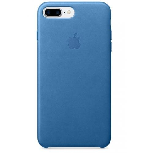 Apple iPhone 7 Plus Leather Case - Sea Blue mmyh2zm/a