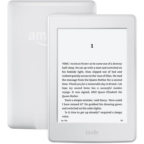 eBook čítačka Amazon Kindle Paperwhite 3 2015, bez reklám, biela