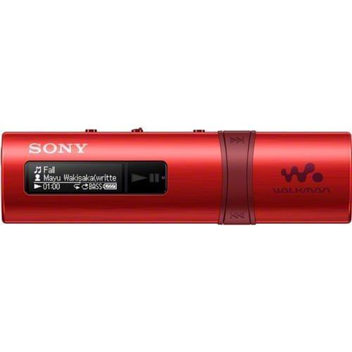 MP3 prehrávač SONY NWZ-B183, USB, FM rádio, 4GB, Red NWZB183FR.CEW