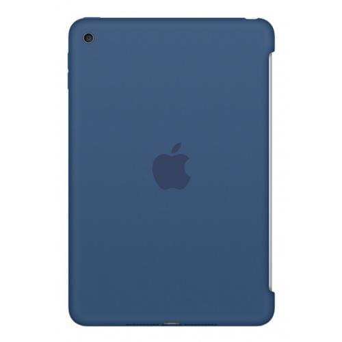 Apple iPad mini 4 Silicone Case Ocean Blue mn2n2zm/a