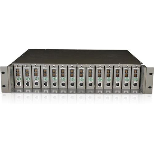 TP Link TL MC1400 14 Slot Rackmount Chassis