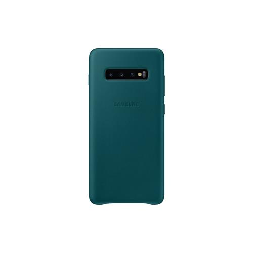 Samsung Leather Cover S10+ Green EF-VG975LGEGWW