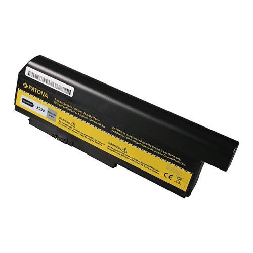 PATONA batéria pre ntb LENOVO ThinkPad X230/X220 6600mAh Li-Ion 10,8V PT2791