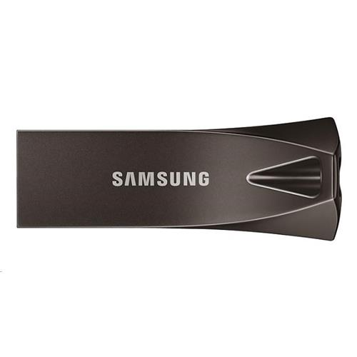 USB Kľúč 128GB Samsung (USB 3.1) BAR Plus - titánovo šedý MUF-128BE4/EU