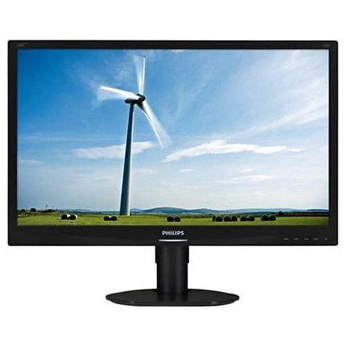 Monitor Philips 220S4LCB, 22, LED, 1680x1050, 1000:1, 5ms, 250cd, D-SUB, DVI, pivot, čierny
