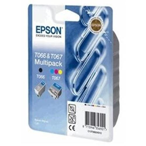 Kazeta EPSON S C48 black + color