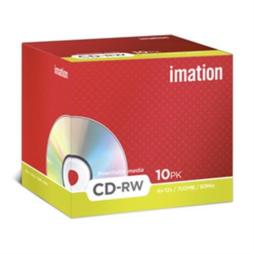 CD-RW IMATION 700MB 4-12X 10ks/bal.