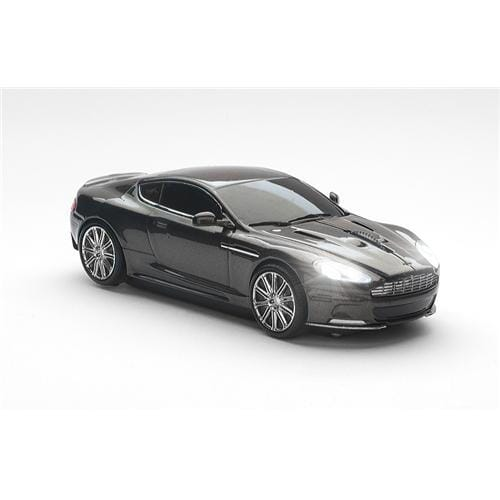 Myš CLICK CAR MOUSE Aston Martin DBS Quantum silver (2,4GHz Wireless)