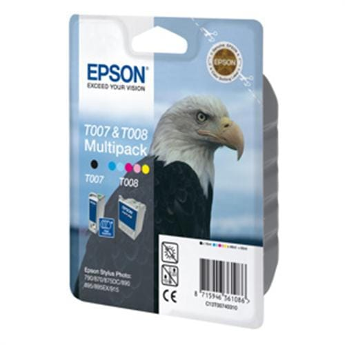 Kazeta EPSON SP 790/870/890/895/915 all color