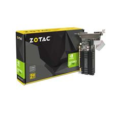VGA ZOTAC GeForce GT 710, 2GB DDR3 (64 Bit), HDMI, DVI, VGA
