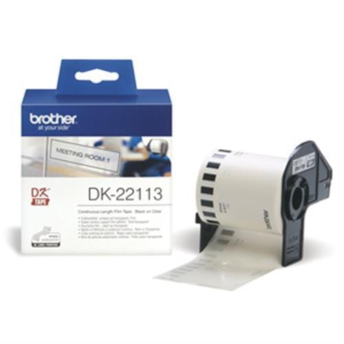 Rolka BROTHER DK22113 Continuous Film Tape (Clear 62mm)