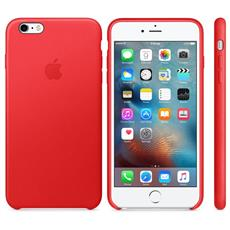 Apple iPhone 6S Plus Leather Case (PRODUCT) RED