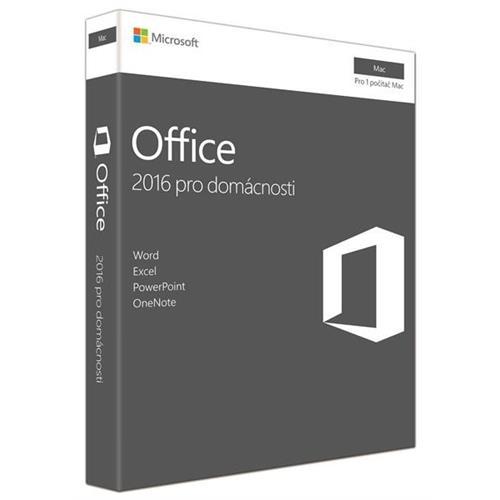 Office MAC pre domácnosti a študentov 2016 Slovak GZA-01101