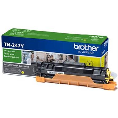 toner BROTHER TN-247 Yellow HL-L3210CW/L3270CDW, DCP-L3510CDW/L3550CDW, MFC-L3730CDN/L3770CDW TN247Y