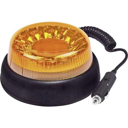 Maják do autozásuvky SecoRüt, 95111, s magnetom, oranžová 1337350