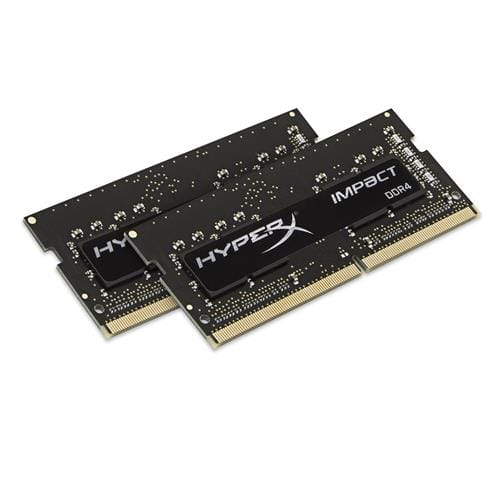 Kingston 8GB DDR4-2133MHz SODIMM CL13 HyperX Impact, 2x4GB