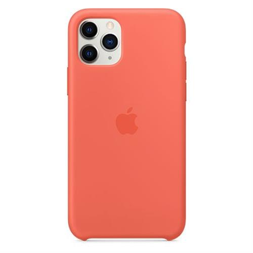 Apple iPhone 11 Pro Silicone Case - Clementine (Orange) MWYQ2ZM/A