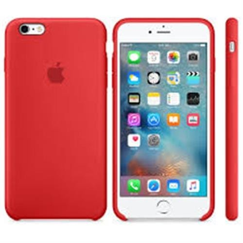 Apple iPhone 6S Plus Silicone Case Red