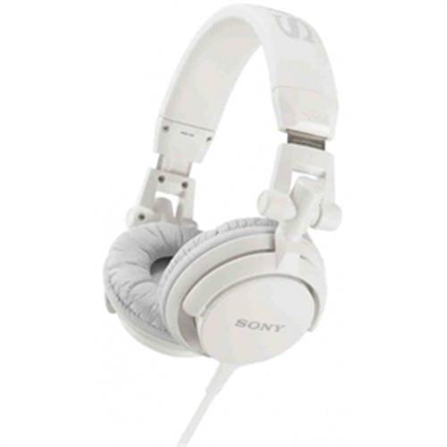 Slúchadlá Sony MDR-V55 EXTRA BASS & DJ type, biele MDRV55W.AE