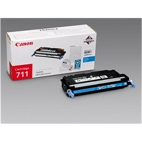 Toner CANON CRG-711 modrý pre LBP 5300 1659B002AA
