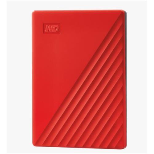 Ext. HDD 2,5'' WD My Passport 2TB USB 3.0. červený WDBYVG0020BRD-WESN