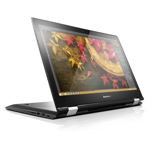Lenovo IP Yoga 500-15IBD 15,6''F, i3-5005, 4G, 128, INT, Win10, black