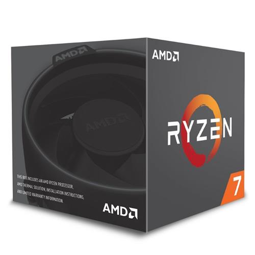 CPU AMD Ryzen 7 2700, Processor BOX, soc. AM4, 65W, Wraith Spire (LED) chladič YD2700BBAFBOX